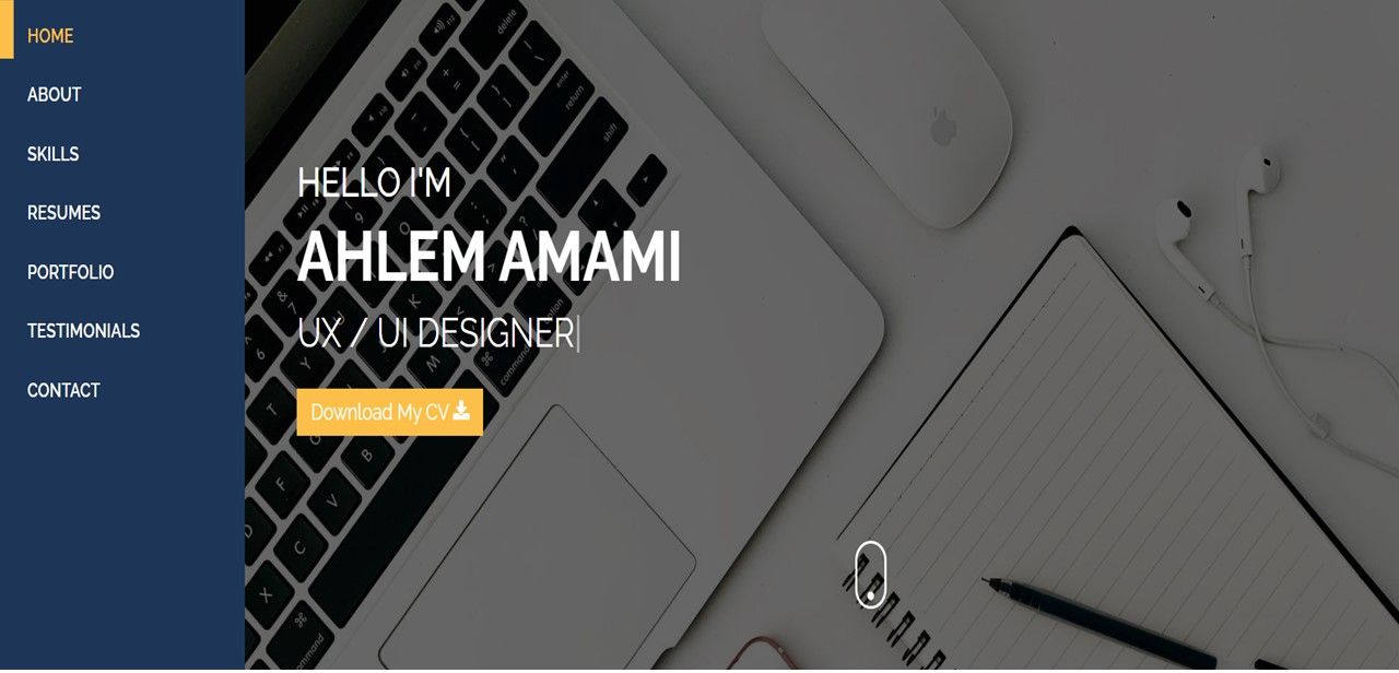 I will develop a profitionnal personal website for you